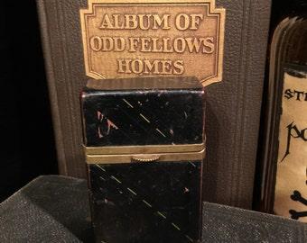 Antique Leather Cigarette Case at Gothic Rose Antiques