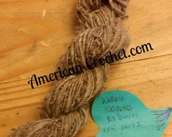 Wallace handspun yarn/ 100g / 3.5oz / 114 yards
