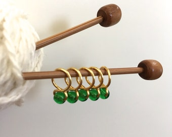 Shamrock - Snag Free Knitting Stitch Markers (Small) - Fit up to size 8 US (5.0 mm)