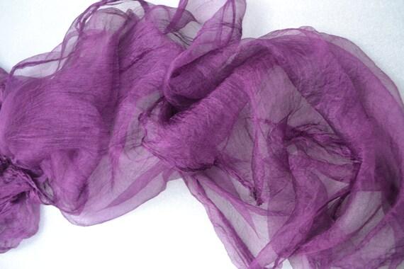Silk For Feltmaking 2 Yards Nuno Felting Felting Silk