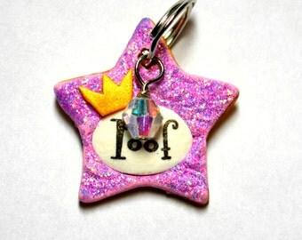 Shiny Star Pet Tag / Dog Tag