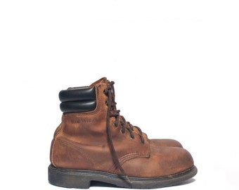 Unique Red Wing Hiking Boot Related Items Etsy