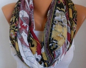 ON SALE --- Floral Cotton Scarf, Christmas Gift, Summer Scarf, Pareo,Cowl Scarf, Gift Ideas For Her Women Fashion Accessories
