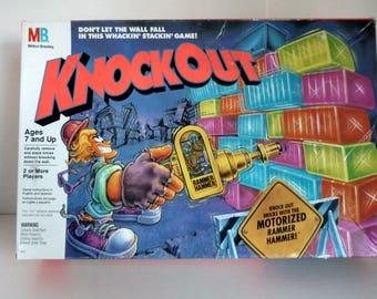 1991 Milton Bradley Knock out