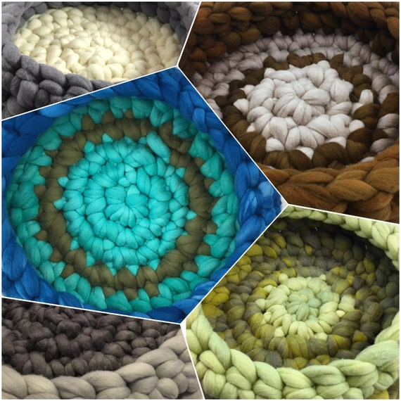 Custom Made Cat Bed, Pet Bed, Merino wool Cat Nest, Chunky Wool Cat Cave, Knit Cat Furniture, Small Dog Bed, Merino wool, Colors & sizes