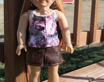 American Girl Tenney Mix and Match Western Themed
