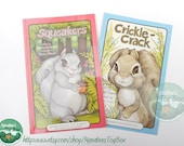 Vintage Serendipity Books: Squeakers and Crickle-Crack Two 1980s Squirrel Books