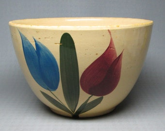 Watt pottery Tulip bowl number 64
