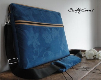 Customizable for Color Fabric and Sizes Laptop Bag-FREE shoulder PAD -Messenger bag-fully Padded bag-Waterproof lining-exterior Large Pocket