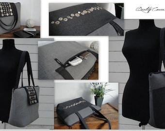 30% OFF unique Tote Laptop Bag-Laptop COMPARTMENT-WATERPROOFlining- Fully Padded Handbag/Shoulder Bag/Everyday bag