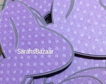1 Count Light Purple Dots Bow