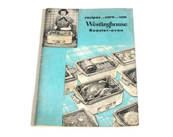 Westinghouse Roaster Oven Instruction Manual Recipe Book RO-91