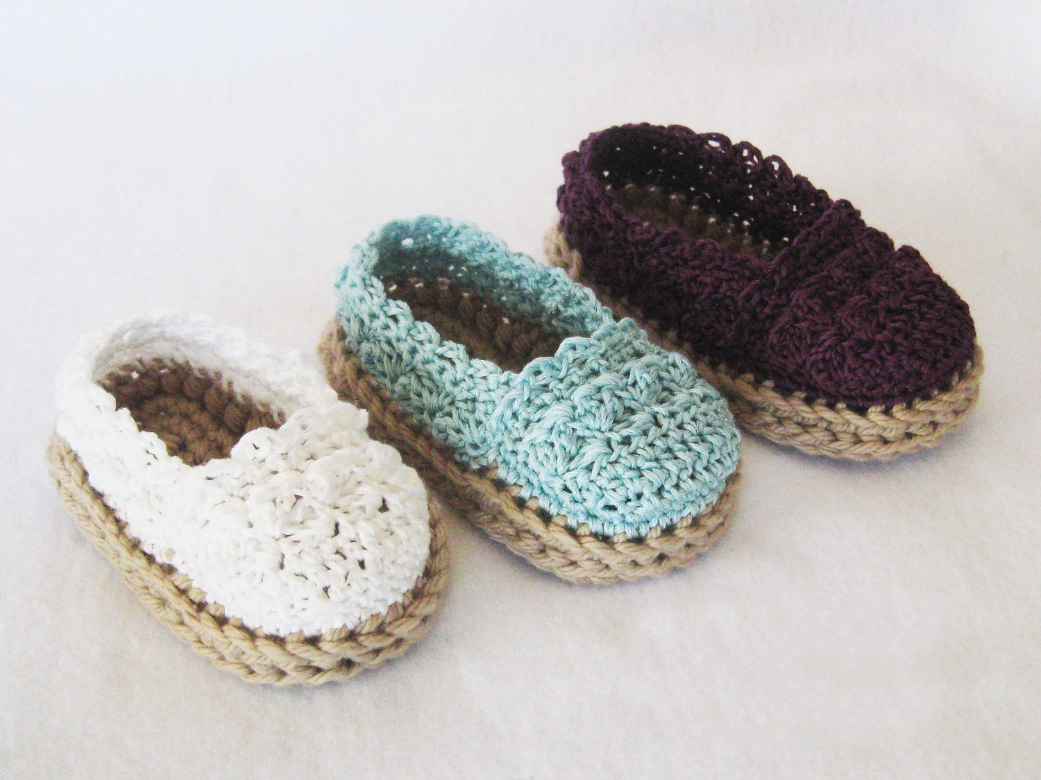 Crochet pattern baby girl espadrille shoes booties zoom bankloansurffo Image collections