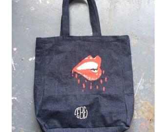 Lip Bite bleed