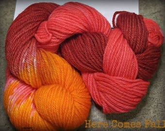 Here comes fall, 100 yards/ 1.4 oz/ 3.9 g
