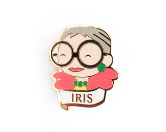 Iris Apfel Pin Brooch
