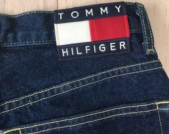 Vintage 90's Tommy Hilfiger Dark Wash Denim