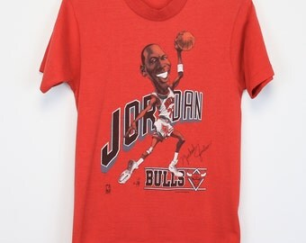 Michael Jordan Shirt Vintage tshirt 1988 Chicago Bulls MVP tee 1980s National Basketball Association Legend Icon NBA Nike Air Jordan 80s