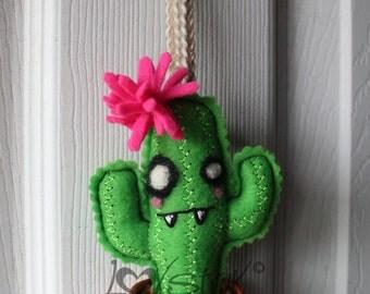 Emo Cactus Ornament