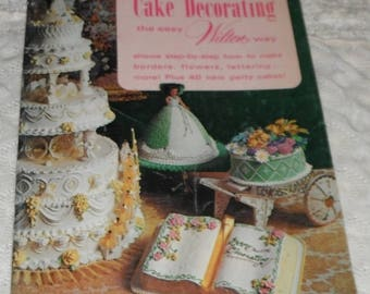 Cake Decorating the Easy Wilton Way Vintage Softcover 1973