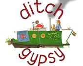 ditch gypsy - badge