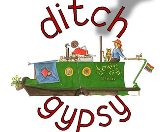 ditch gypsy - badge