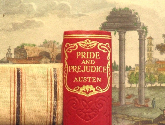 Pride and Prejudice vintage book by Jane Austen