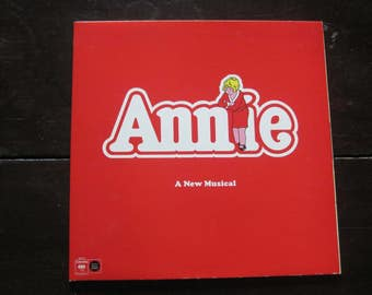 Vintage Record Annie 1977 Musical Original Cast Recording