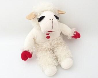 Lamb Chop Plush Toy - Vintage Stuffed Animal - Lamb Plushie - Shari Lewis Lamb Chop Puppet