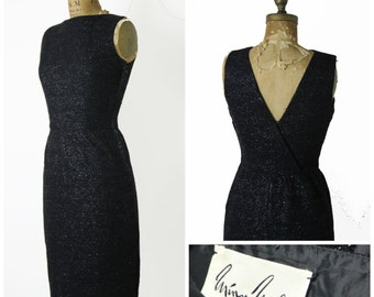1950s Minx Modes Pencil Dress