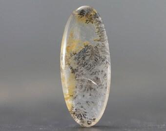 Dendritic Quartz Natural Gemstone Fern Plant-like Inclusions (CA8618)