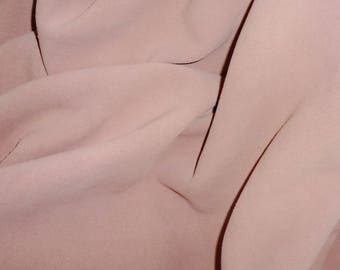 "SUEDE Leather 12""X12"" Blush Flesh SUEDE Vintage PASTEL Pink Garment Cowhide 4 oz / 1.6 mm PeggySueAlso™ E2825-12"