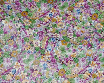Leather 3 - 6 sq ft GREEN Butterflies, Lady Bugs with Purple Flowers on COWHIDE 2-2.5 oz / .08-1 mm PeggySueAlso™ E2180-01