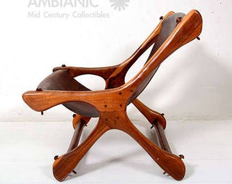 On Hold Sling Chair Attributed to Don Shoemaker