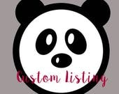 Custom Listing For Rachel cogburn