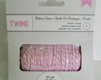 "Baker's Twine ""cotton candy"""