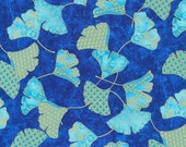 Blue & Metallic Gold Ginko from Paintbrush Studio's Flights of Fancy Collection