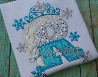 Personalized Frozen Shirt