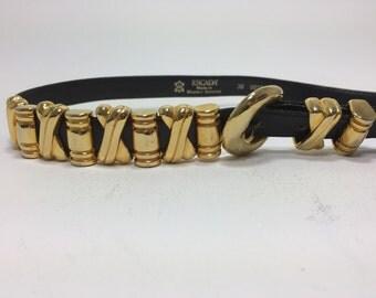 Escada gold embelleshed belt.