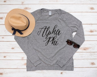 Alpha Phi Long Sleeve Pullover