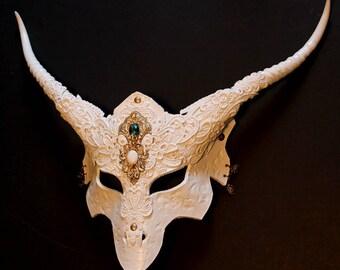 White Dragon  Mask