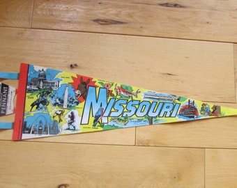 Missouri Pennant Souvenir