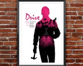 "Drive Poster 12X18"", Alternate Movie Poster, Minimalist"