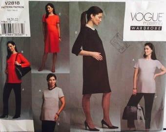 Vogue Maternity Wardrobe 2818