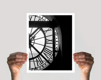 ON SALE Paris Decor, Wall Art, Fine Art Photography, Black and White Photography, Musee D'Orsay, Wall Decor, Paris Print, Limited Edition Pr