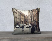 RESERVED FOR DOMINIC - City Center Praha 18x18 Pillow Cover