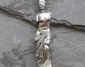Sale 30X7mm Venus De Milo - High Quality Lead Free Cast Fine Pewter Charm - Pendant, 1 PC (INDOP920)