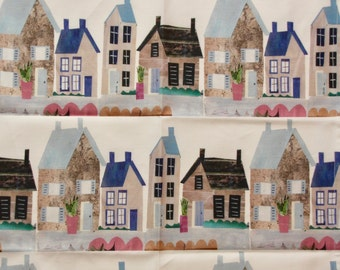 Country Cottage Tea Towel