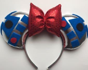 Disney Star Wars R2D2 Mickey Ears