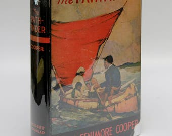 "Antique Book ""The Pathfinder"" James Fenimore Cooper 